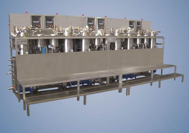 Küçük Üretim Bobin Boyama Makinesi ATC DYE-BBOX FLEXY